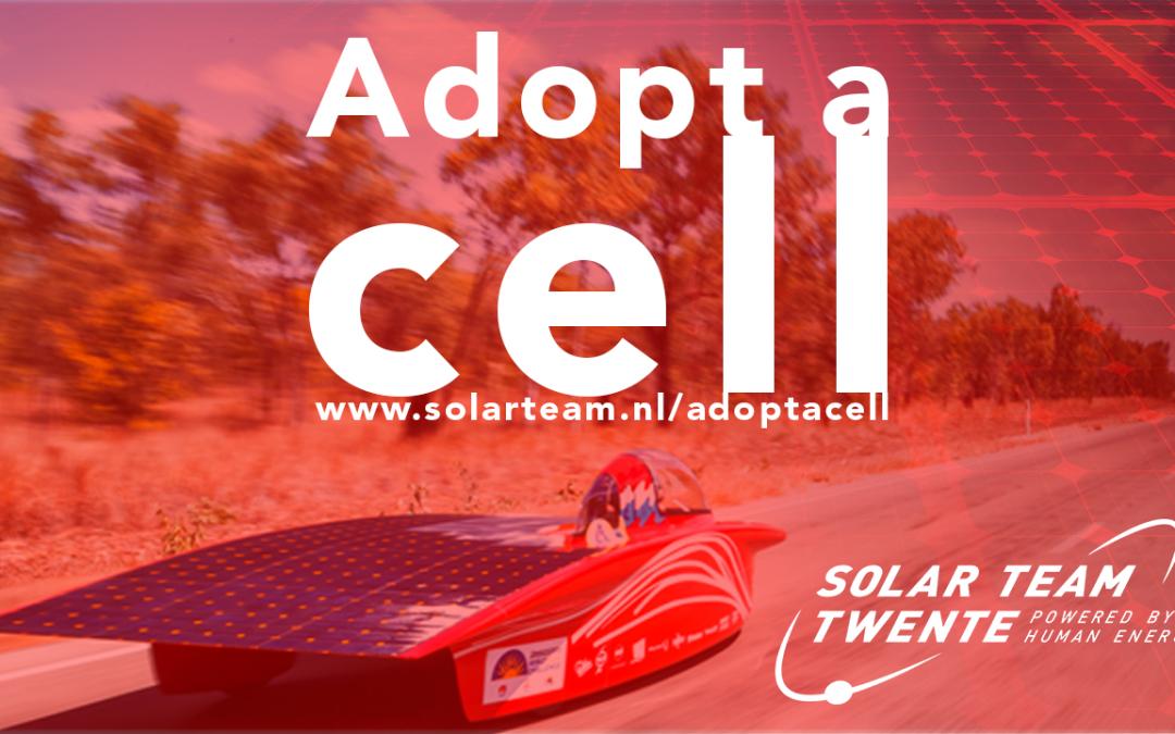 Nieuwsbericht: Adopteer een zonnecel van Solar Team Twente