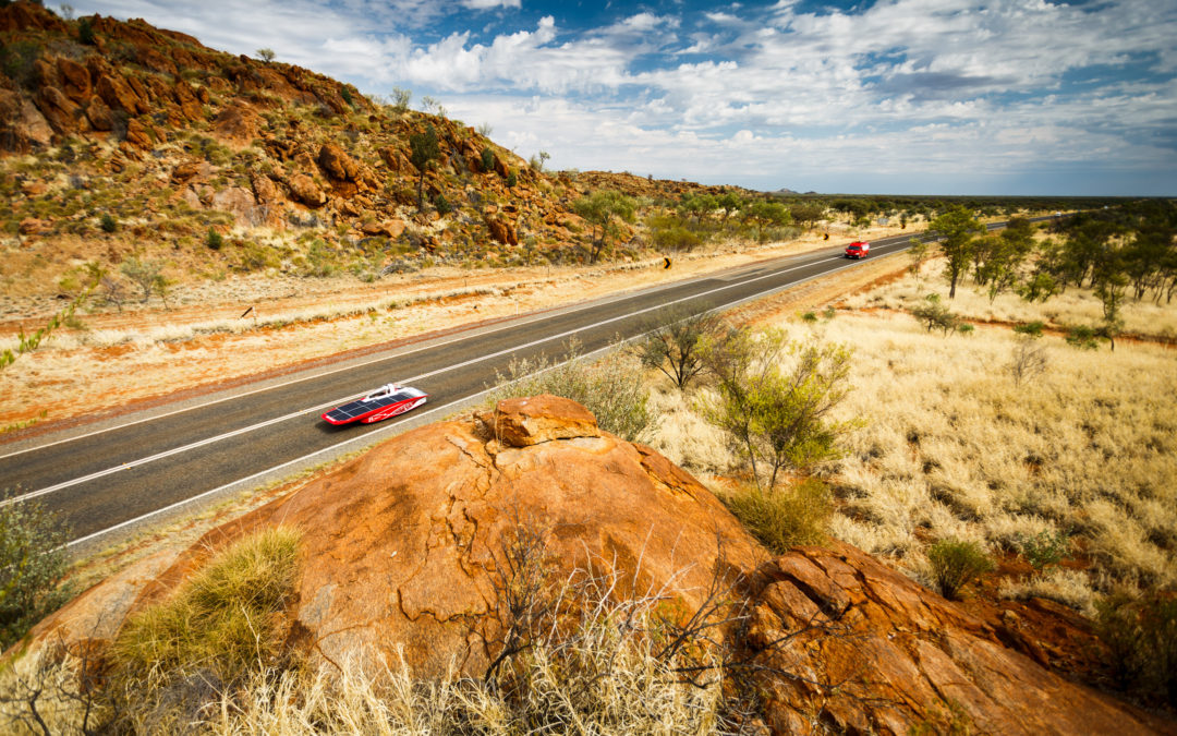 Solar Team Twente behoudt derde plek in Bridgestone World Solar Challenge
