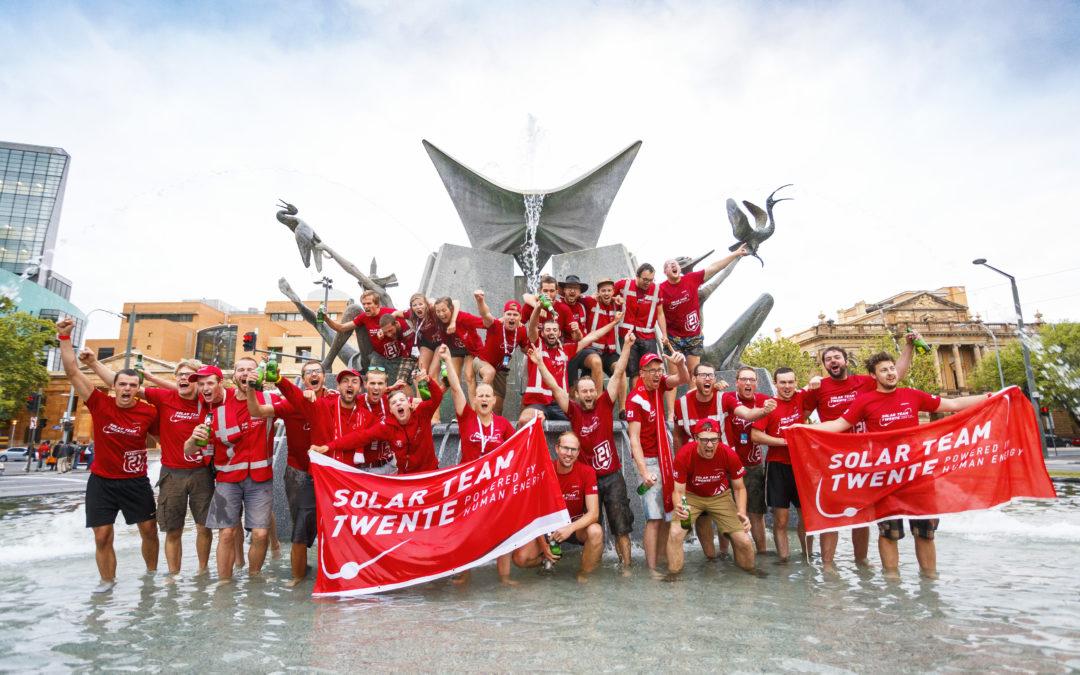 Solar Team Twente als vijfde over de finish