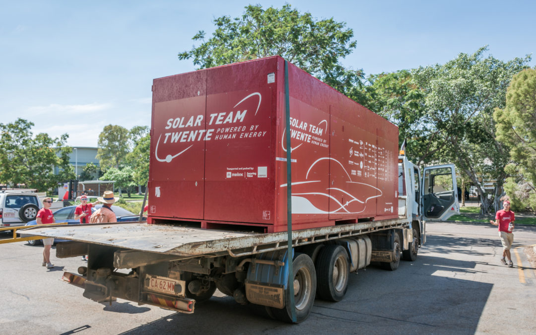 Solar Team Twente verhuist naar Kanaalstraat in Enschede