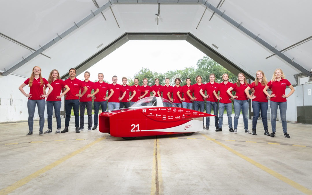 Solar Team Twente reveals new solar car