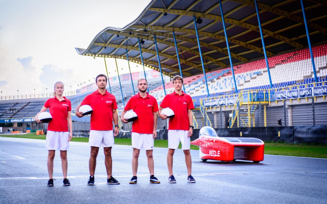 Coureurs van Solar Team Twente onthuld op TT Circuit Assen
