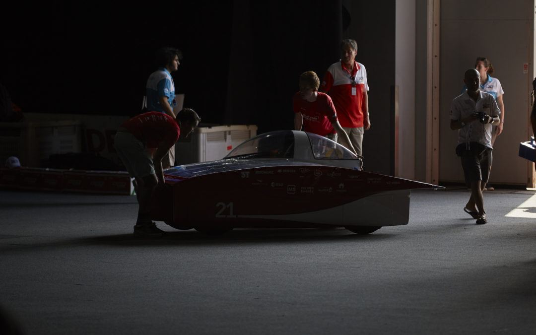ARE WE RED E? Static scrutineering