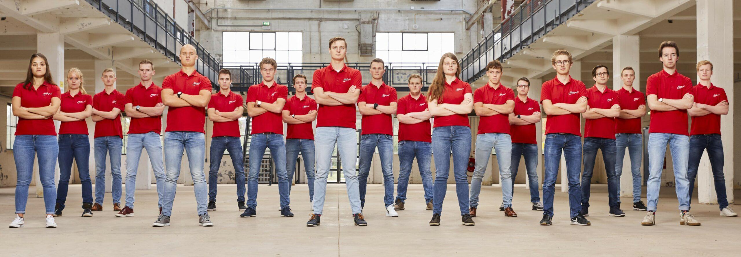 Group photo solar team