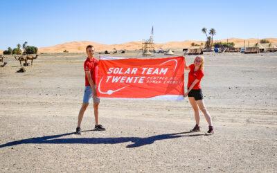 Solar Team Twente explores the Moroccan Sahara