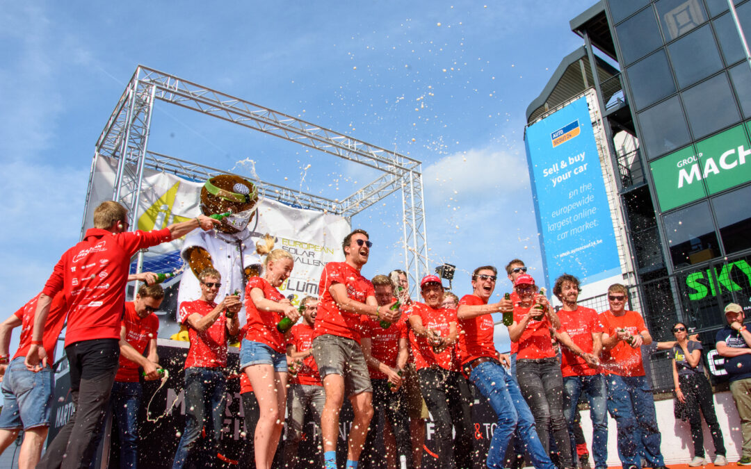 Solar Team Twente finishes second after exciting 24-hour race