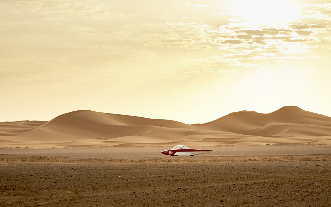 Solar Team Twente in the lead after third stage in Solar Challenge Morocco